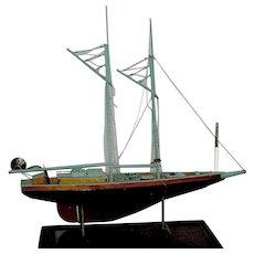 Vintage Handmade Ship Sailboat Local Pickup
