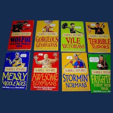 Vintage Set of Horrible Histories by Deary & Tongue...1999
