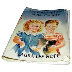 Vintage Book, The Boppsey Twins In the Country 1950