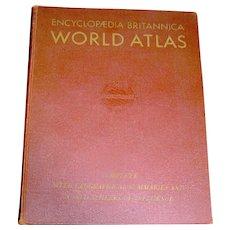 The Encyclopedia Britannica 1945 Atlas World