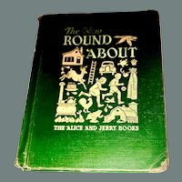 """Vintage Book """"The New Round About """" by Mayble O'Donnell 1948"""