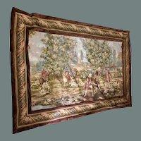 Large Tapestry of Pastoral Scene