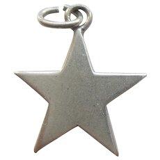 Vintage Star Charm - Simple and Elegant