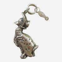 Hand & Hammer Beatrix Potter Jemima Puddle-Duck Sterling Charm / Pendant - Retired