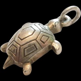 Georg Jensen Denmark Sterling Silver Turtle / Tortoise Charm