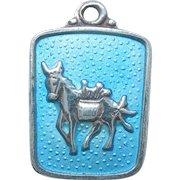 Meka Denmark Sterling Silver Caribbean Island Charm - Burro or Donkey