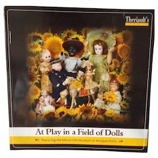 """Auction Catalogue with Prices Realized--""""At Play in a Field of Dolls"""" - Red Tag Sale Item"""