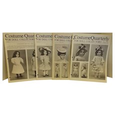 Four Costume Quarterly Patterns