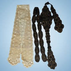 Beautiful Lace Pieces, Perfect for Doll Dressing