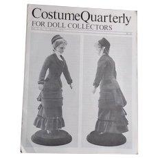 1879 Lady Doll's Walking Costume Pattern
