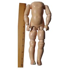 Nice Small Jointed Composition Doll Body