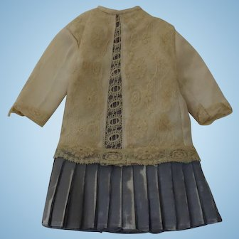 Small French Style Doll Dress With Wear