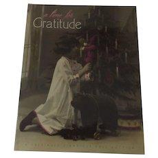 Auction Catalogue, November 2016, A Time For Gratitude