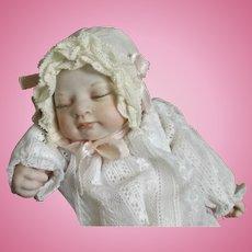 Sleeping Baby by Jane Bradbury