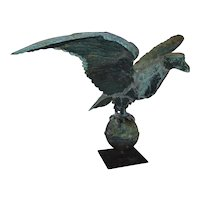 Patriotic American Eagle Antique Weathervane
