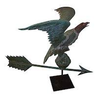 American Folk Art Eagle Weathervane