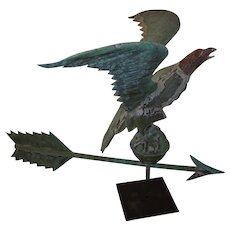 American Folk Art Eagle Weathervane
