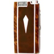 Vintage Highly Collectible Sleek and Sexy Ronson Lighter and Cigarette Case