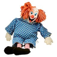 Adorable 1960's Talking Bozo the Clown Doll
