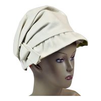 Glorious 1950's Creamy Wool Hat