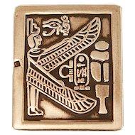 Gorgeous Sterling .925 Egyptian Men's Money Clip