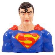 It's a Bird, It's a Plane, It's a Vintage Enesco Superman Ceramic Bank!