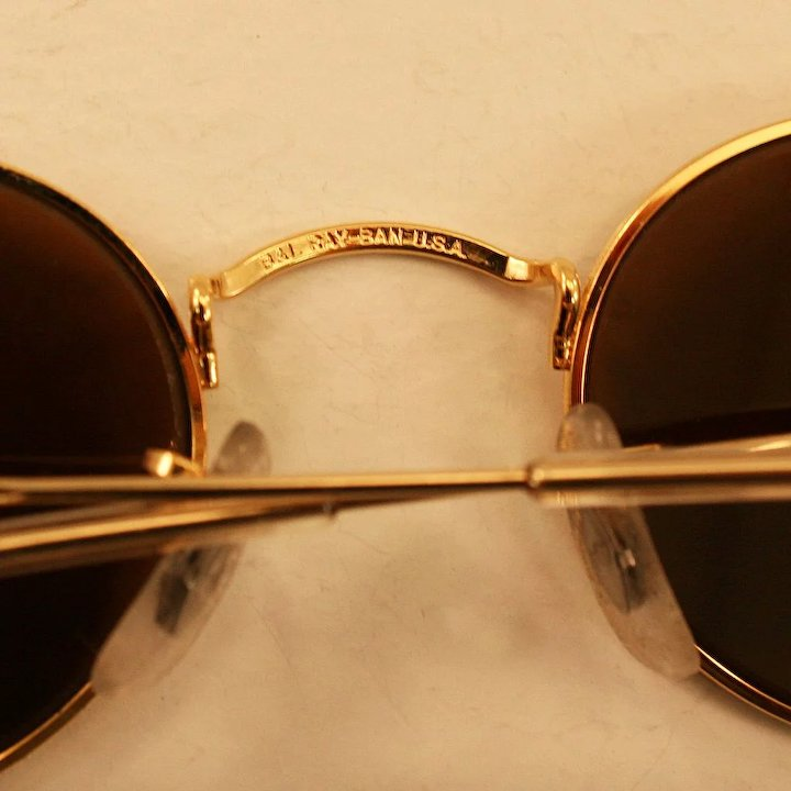 35f203b90c ... wholesale very cool vintage ray ban diamond hard 24k gold electroplate  arista frame sunglasses ce9ff 071a0