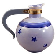 ca 1938 Collectible Vernon Kilns of California Constellation Pattern Coffee Server