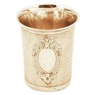 Pre WW1 .833 Silver Austria-Hungary Art Nouveau Cup