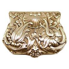 ca 1886-87 Tiffany & Co. Historic Edward Moore Maker Sterling Silver Snuff Box
