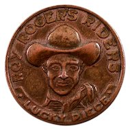 Nostalgic Roy Rogers Riders Good Luck Forever Coin - Hi Ho Silver!!