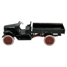 "1920s Very Rare 25"" Buddy ""L"" Hydraulic Model 201-A Pressed Steel Dump Truck"