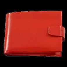 Super-Rare and Highly-Collectible Schiaparelli Wallet With Orig. Box and Accessories