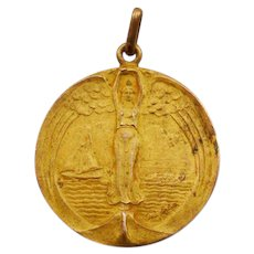 Gorgeous Vintage Constante Rossi Argentine Art Medal