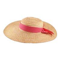 Sweet and Sassy Vintage Straw Sun-Hat
