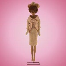 1961 Vintage Fashion Luncheon Titan Bubble Cut Barbie