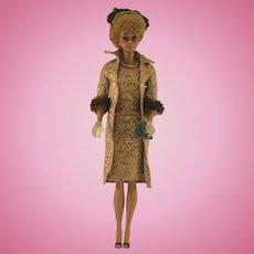 1961 Vintage Evening Splendor White Ginger Bubble Cut Barbie