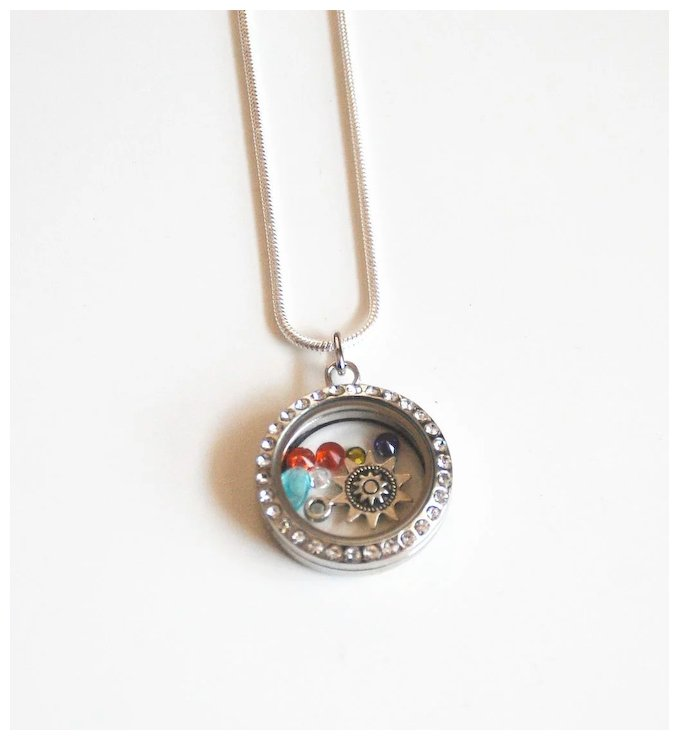 elegant oblacoder day birthstones locket mom birthstone necklace jewelry charms lockets mothers