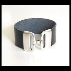 Leather Cuff Bracelet - Cuff Bracelet- Men's Cuff Bracelet - Men's Bracelet- Unisex Bracelet- men and Women Leather Bracelet -men's jewelry