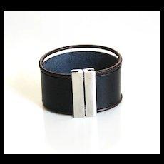 Men's Leather Cuff Bracelet - Cuff Bracelet- Men's Cuff Bracelet -Men's Bracelet- Unisex Bracelet- Women's Leather Bracelet -men's jewelry