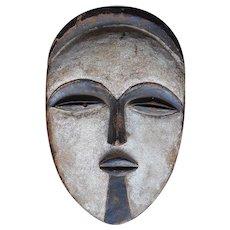 Vintage Hand Carved African Mask-Vuvi Tribe