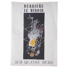 Vintage Mid Century Ltd. Ed. Lithograph-Georges Braque-For Derriere Le Miroir-Folio-1951