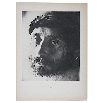 """Vintage Mid 20th C. Double Sided Photogravure From Verve-""""Shepherds"""" by Herbert List"""