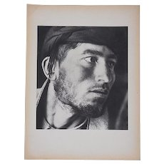 "Vintage Mid 20th C. Photogravure From Verve Art Journal-""Shepherds"" by Herbert List"