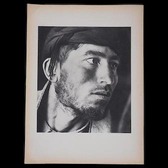 "Vintage Mid 20th C. Photogravure From Verve Art Journal-""Shepherds"" by Herbert List"