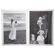 Vintage Mid 20th Century Photographic Prints By Edouard Boubat (France 1923-'99)-A Pair