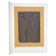 Vintage Ltd. Ed. Mid 20th C. Silkscreen-Marino Marini-Equine-1959-Folio Size