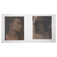 A Pair-Vintage Photographs By Alfred Stieglitz (USA 1846-1964)