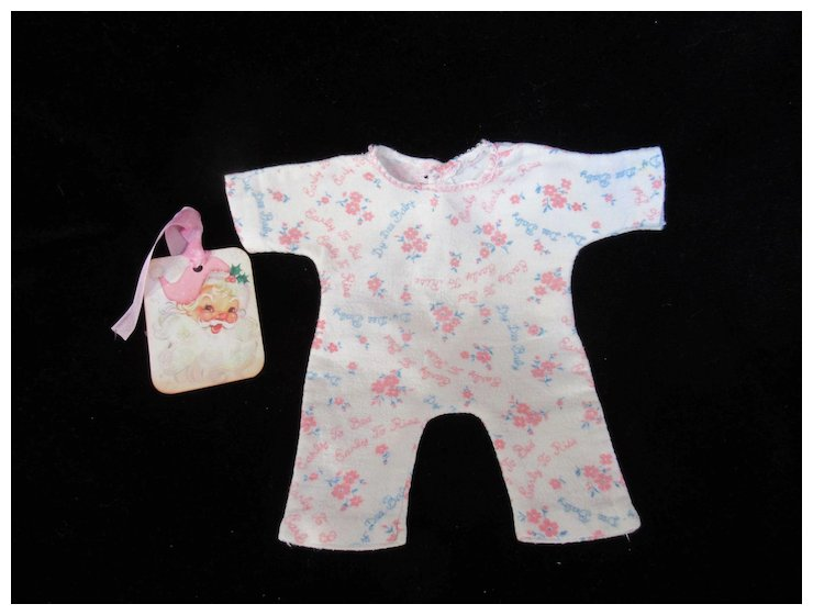 ac68a5fdb5 Vintage Effanbee Dy-Dee Doll Signature Pajamas for your 11