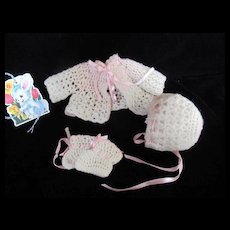 """Vintage Effanbee Dy-Dee Doll Sweater Set for your 11"""" Doll"""